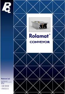 Rolamat Conveyor Folder