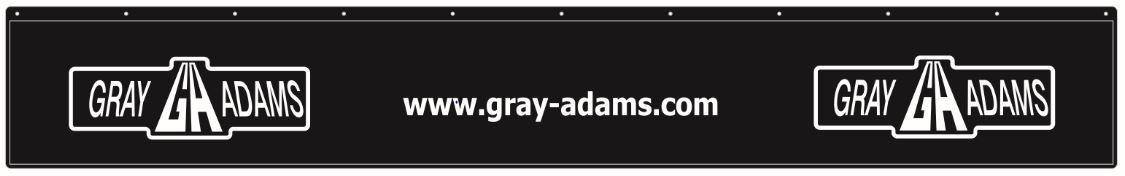 Gray & Adams 2400 mm mudflap